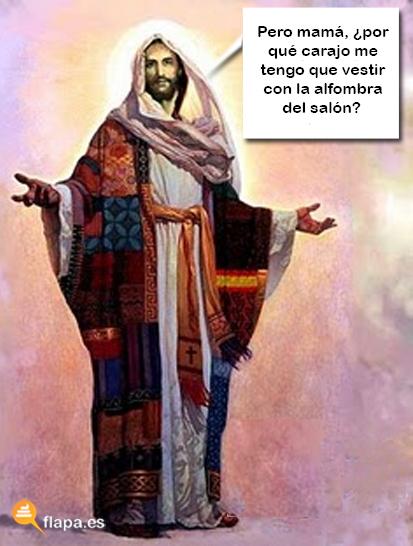 jesus lol - alfombra salón
