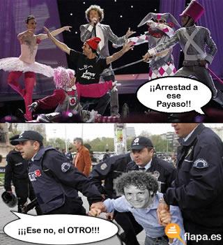 Eurovision espontaneo