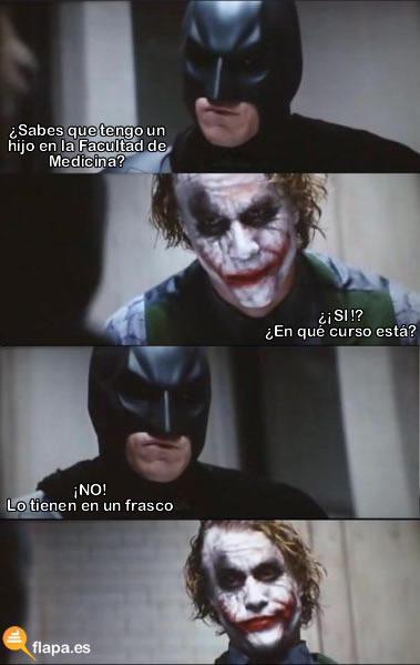 Joker facultad de medicina