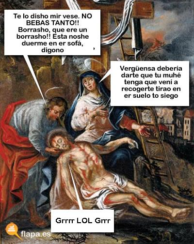 jesus lol borracho