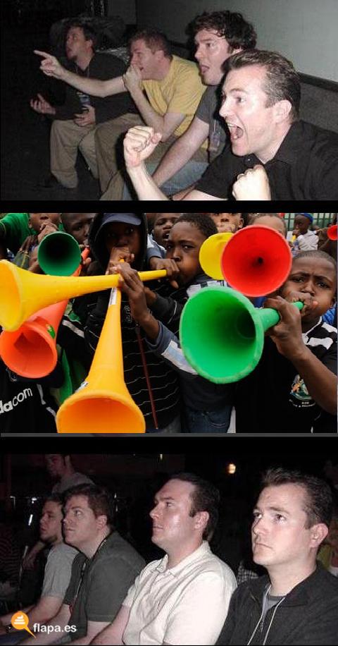 nostá dando porculo la trompetita der mundiá