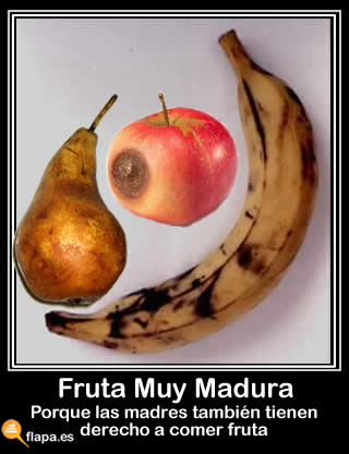fruta,madura,madre,mama,comer,la fruta es sana,platano,pera,manzana