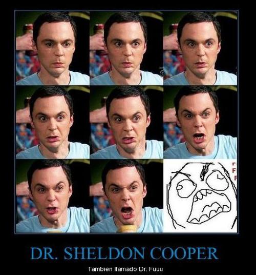 tbbt, sheldon, big bang theory, serie, colaboracion, fffuuu, meme