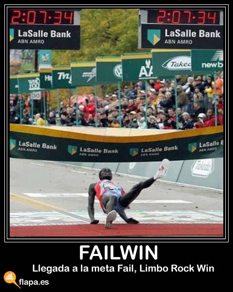 fail, win, failwin, deporte, caida, atletismo, doparse es malo