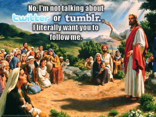 jesus, twitter, tumblr, seguir, diox, religion, jesux, iglesia, cristianismo