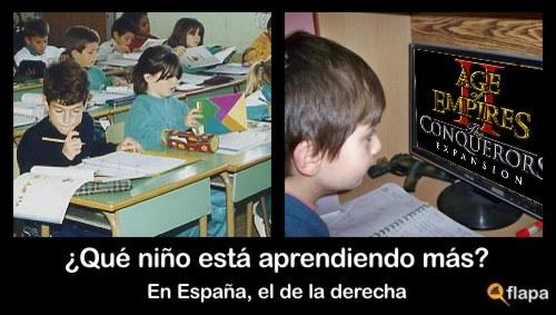 age of empires educación viñeta humor