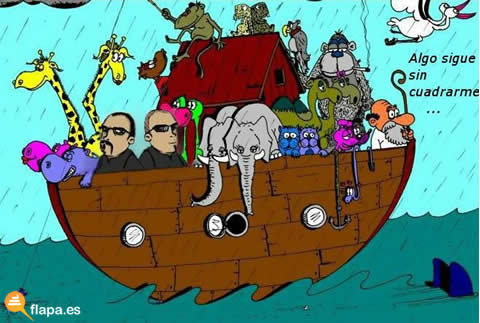 arca,noe,biblia,barco,mar,hermanos dalton,diluvio universal