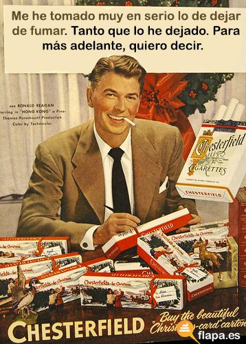 humor, viñeta, flapa, baronadas, tabaco, ley antitabaco, dejar de fumar es facil, twitter
