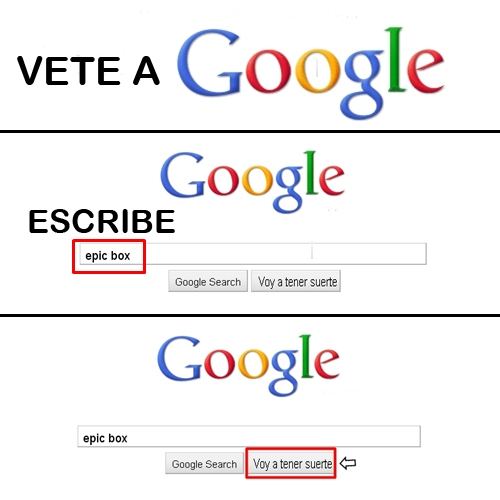 google, epic box, humor