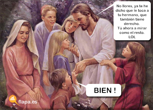 humor, viñeta, jesus, religion, iglesia, cristianismo, pederastia, papa, biblia