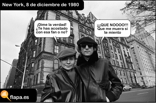 john lennon, yoko ono, beatles, asesinato, new york, affair, cuernos