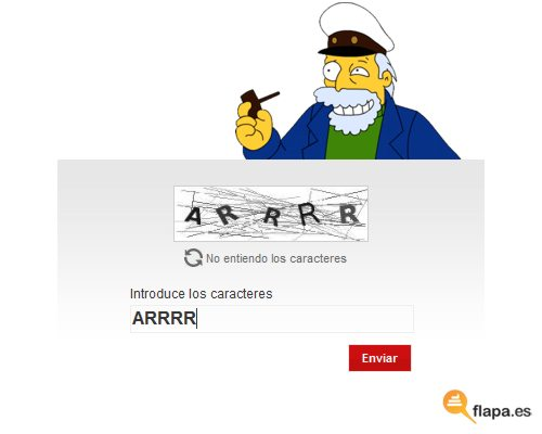 captcha simpsons marinero