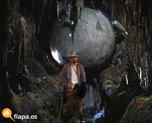 running jerman, running hermanisisimo, meme, chiquito de la calzada, luna, astronauta, indiana jones