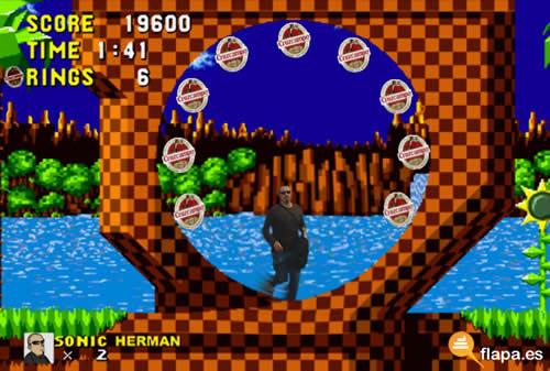 running jerman, running hermanisisimo,sonic, sega, videojuego