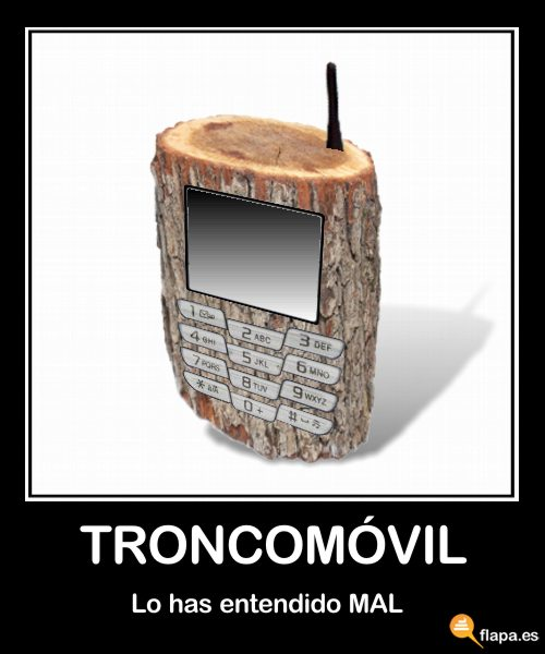 demotivational troncomvil