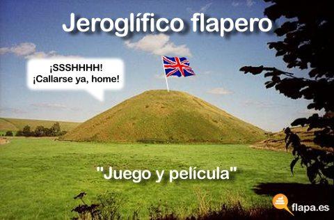 jeroglífico flapero colina
