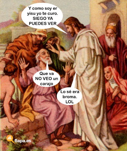 viñeta, yisu, jesus, iglesia, religión, er yisu el hioputa ... nos cachondo, humor, funny