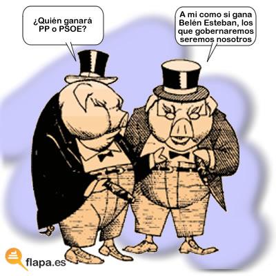 politica, humor, banqueros, pp, psoe, elecciones 2011, belen esteban, gobernantes, presidente