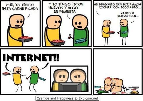 humor, viñeta, internet, recetas, cocina, funny, flapa