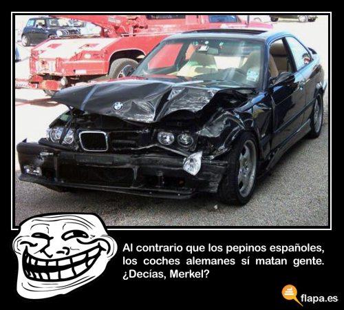 imagen viñeta coche pepino