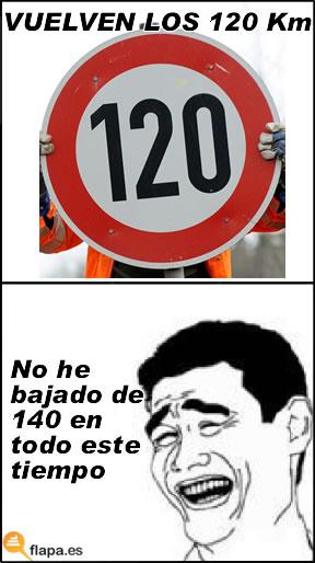 yao ming, meme, 120, km, kilometros, velocidad, viñeta, humor, gobierno, gasolina, multas de trafico, dgt