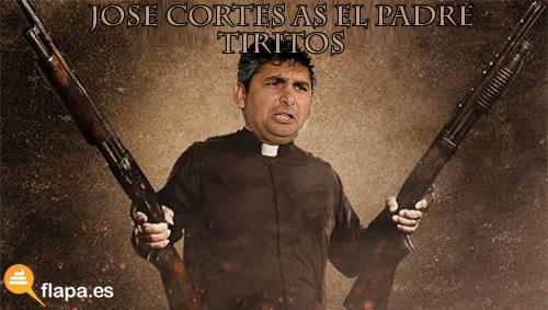 jose cortes, detenido, padre, iglesia evangelica, tiroteo, viñeta, humor, pp