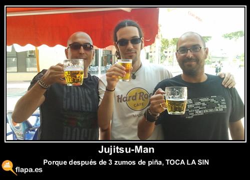 jujitsu, quedada, flapera, becaria, cerveza, foto,