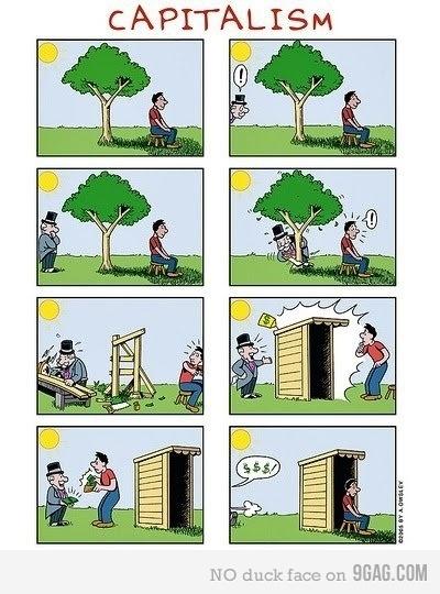 capitalismo, viñeta, humor
