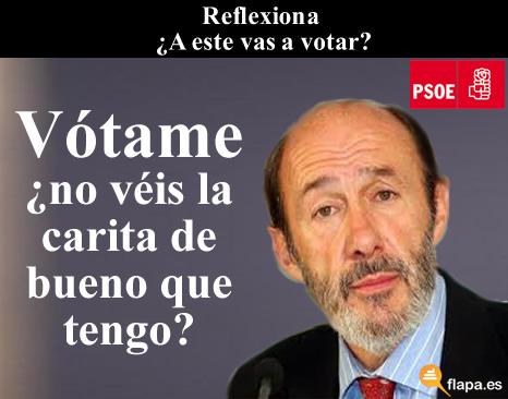 2011, chuches, elecciones, humor, nolesvotes, política, presidente, rajoy, reflexión, viñeta, rubalcaba