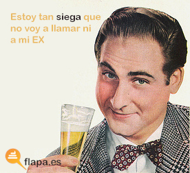 humor, viñeta, alcohol, siega, ex, borracho, siegaso tela de gordo de bueno... como diox y españa manda ... hostias viva españa y el rey joder... ahí ... buen putero.. buen español