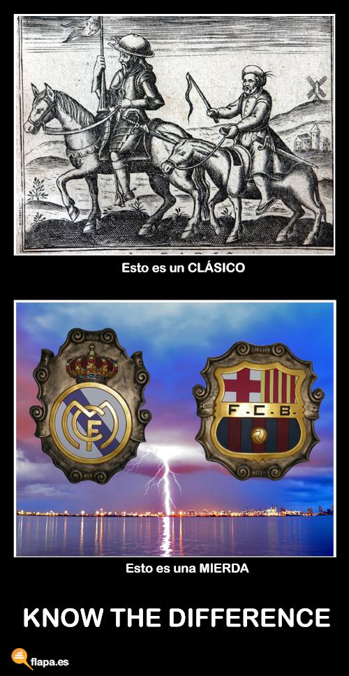 humor, viñeta, clasico, don quijote, cervantes, futbol, deportes, madrid, barcelona, marca, funny, flapa