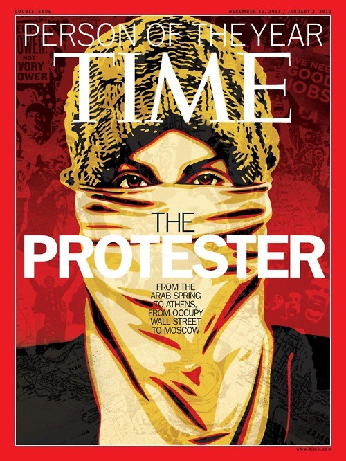 time, protester, 15M, DRY, manifestación, person of the year, portada