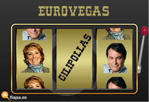 esperanza, aguirre, artur mas, madrid, cataluña, casino, juegos, eurovegas, leyes, apuestas, viñeta, humor