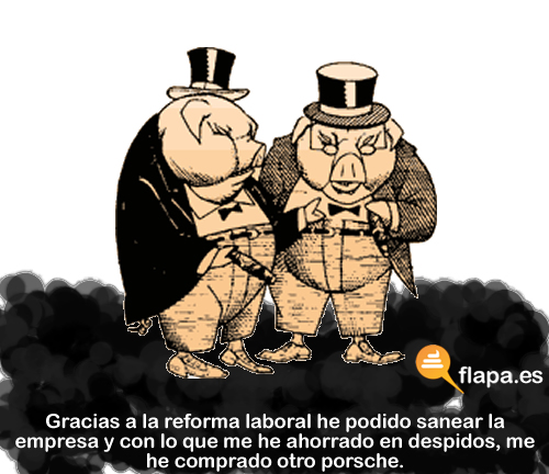 reforma laboral, despidos, paro, politica, pp, rajoy, soraya,la derecha es lo que tiene...beneficia al que beneficia, esto no es grecia pero llegar a serlo, pa cuando vamos a dejar salir a la calle a tirar piedras? ahhh vale cuando pasen las andaluzas ok