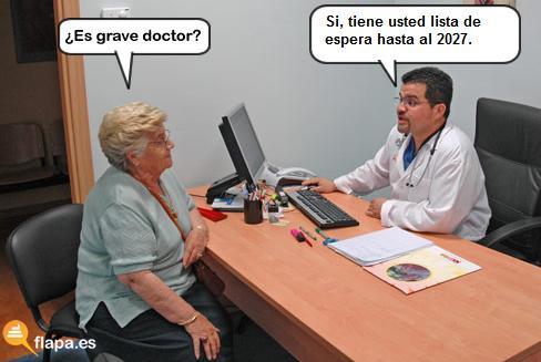 es grave doctor, colaboracion mohonera, doctor, medicina, viñeta, humor