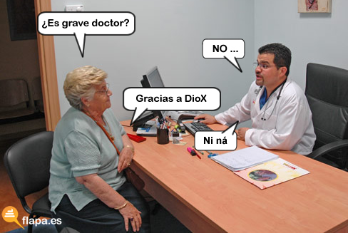 es grave doctor, doctor, medicina, viñeta, humor, meme