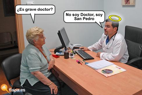 es grave doctor, medicina, doctor, medico, viñeta, humor