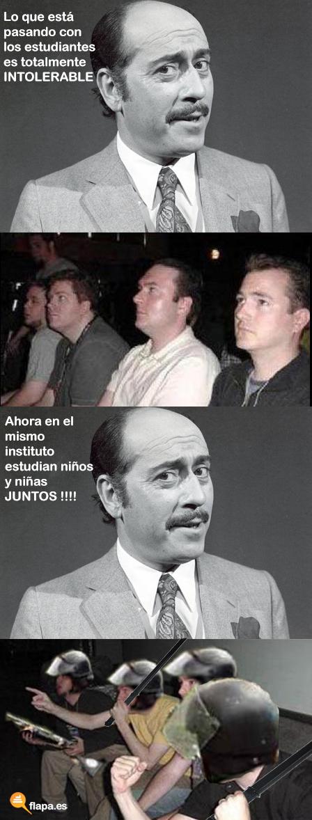 humor, viñeta, meme, reaction guys, jose luis lopez vazquez, valencia, antidisturbios, meme, flapa, funny