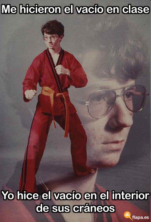 karate viñeta