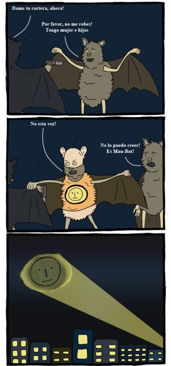 comic humor manbat batman