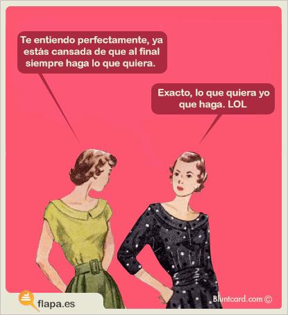 humor, flapa, viñeta, funny, secretos de mujer, machismo, femismo, verdade como puño