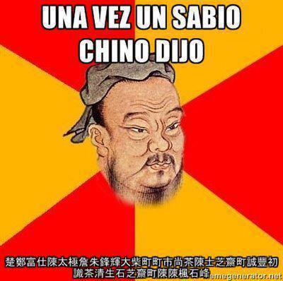 proverbio chino, viñeta, humor