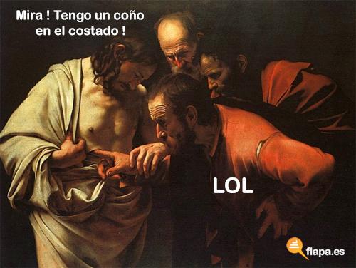 humor, viñeta, flapa, funny, jesus lol, lol, jesus, jesucristo, iglesia, religion