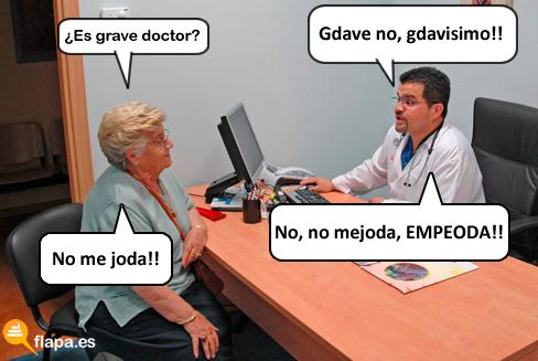 es grave doctor, colaboracion, viñeta, humor