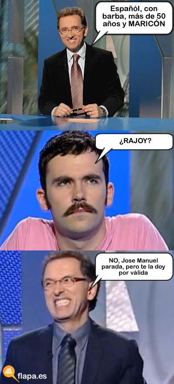 viñeta, humor, jordi hurtado, meme, rajoy, barba, maricon, concurso, saber y ganar