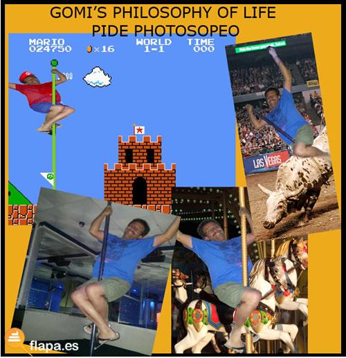 meme, gomanabo, jomagaro, filosofia de vida, viñeta, humor