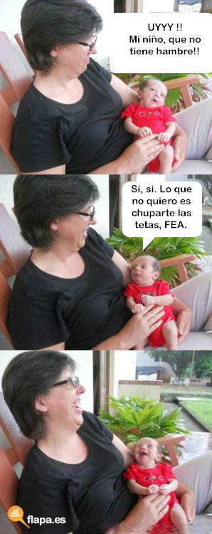 humor, viñeta, flapa, funny, el bebe, meme