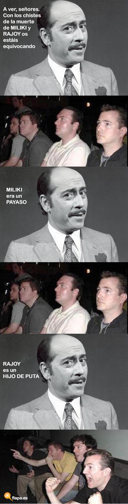 humor, viñeta, miliki, rajoy, funny, flapa