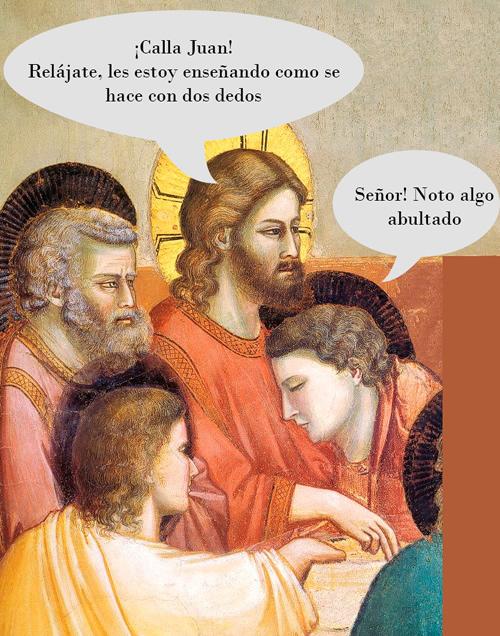 colaboracion mojonera, colaboracion mohonera, viñeta, humor, jesus, religion, iglesia