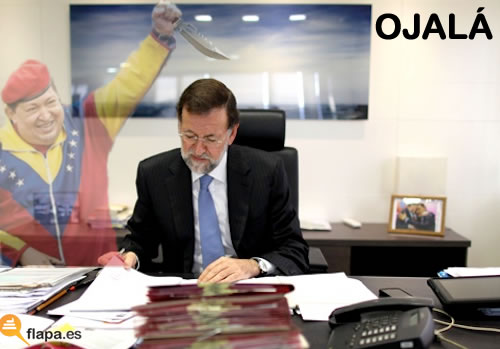 vieta, humor, hugo chaves, muerte, pp, rajoy, fantasma, tarcarajo rajoy